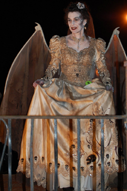 Best Fasntasy Costume at The Witches Ball 2009 - Bride of Death