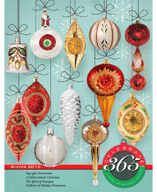 Celebrate365 magazine - Winter 2010 issue cover