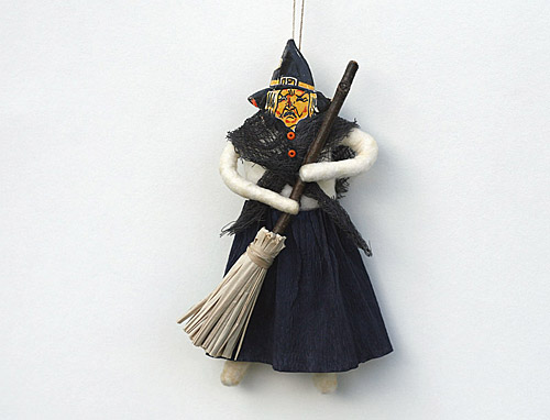 Halloween spun cotton ornament