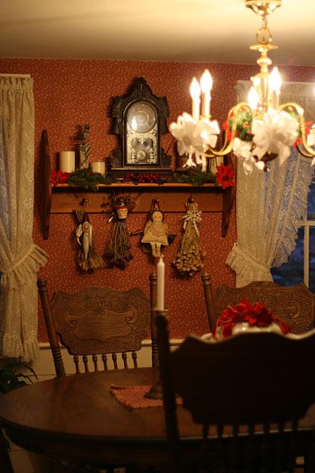 Surprising Christmas Home Tour Primitive And Victorian Decor Primitive Inspirational Interior Design Netriciaus
