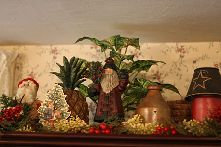 primitive Christmas decor