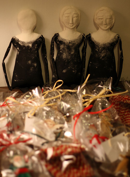 primitive dolls as works in progress