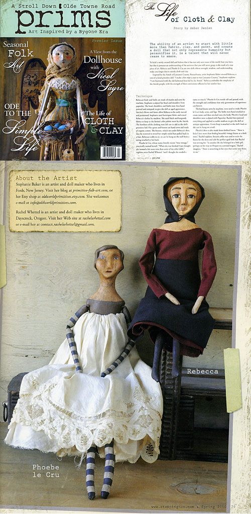 Prims magazine feature - The Life of Cloth and Clay