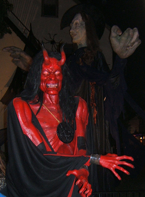 giant devil costume