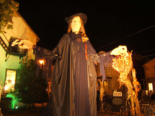 The Witches Ball 2009 in Mount Holly, NJ