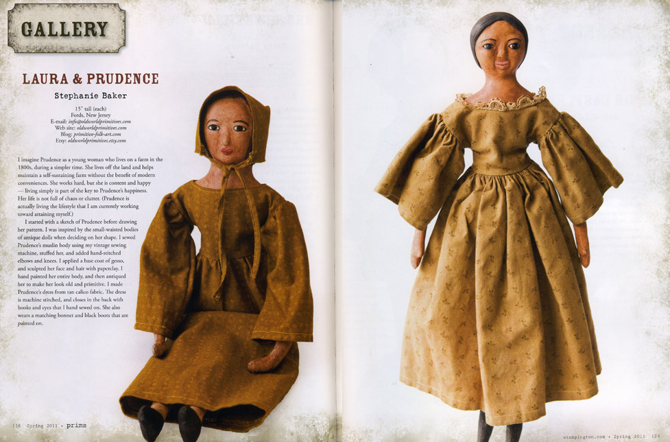 Old World Primitives in the Spring 2011 issue of Prims Magazine