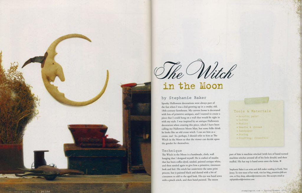 The Witch in the Moon in Prims Magazine